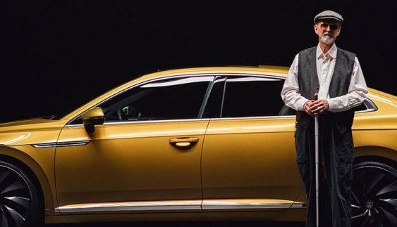 Рекламну зйомку нового Volkswagen Arteon довірили сліпому фотографу (Фото)