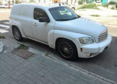На українських дорогах помічено рідкісний американський фургон (Фото)