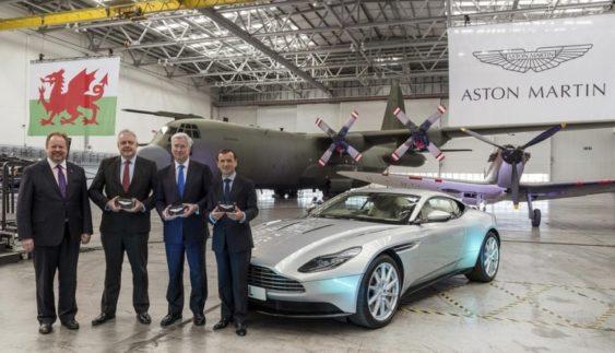 Aston Martin будує завод для випуску електромобілів