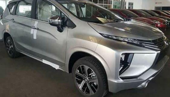 У мережі з'явилися «живі» знімки нового Mitsubishi Expander