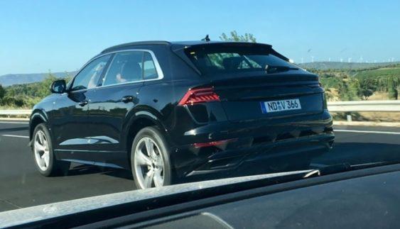 Новинку Audi Q8 помітили без камуфляжу (Фото)