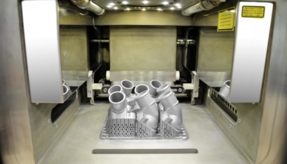 Mercedes-Benz запустив перший 3D принтер по металу