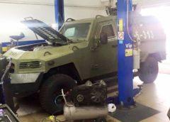 Українські бронеавтомобілі оснастили ГБО (Фото)