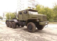 Новітній танковоз «Урал» дуже схожий на американський