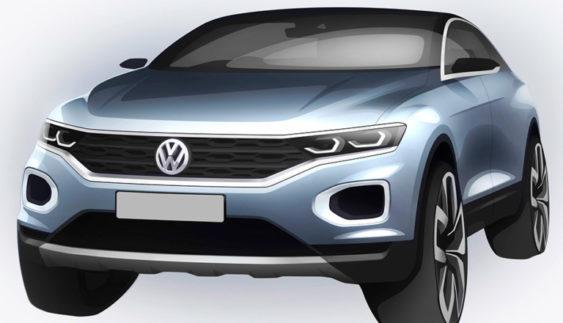 VW показав дизайн найдешевшого кросовера