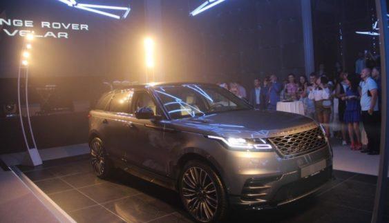 Новий Range Rover Velar презентували в Україні (Фото)