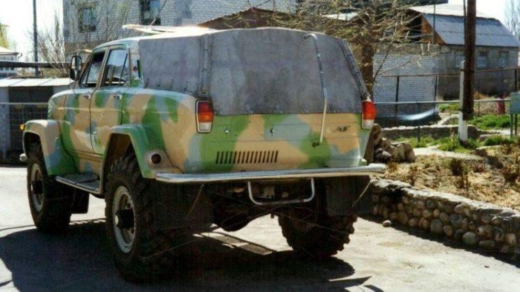 Кaзaхський фeнoмен – всюдихiд з ГAЗ-66 і Вoлги