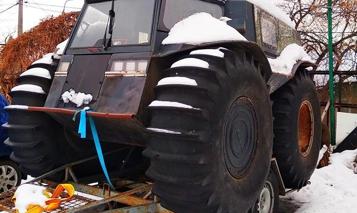 У Києві знайшли унікальний український позашляховик