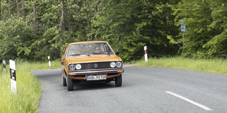 В Сети показали уникальный рестайлинговый Volswagen Passat GLS 1977 года (ФОТО)
