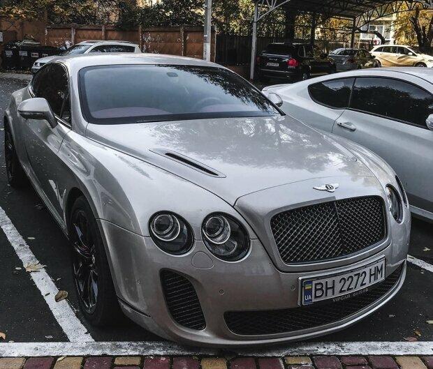 На дорогах Одессы заметили модель Bentley стоимостью почти 300 тыс долларов (ФОТО)