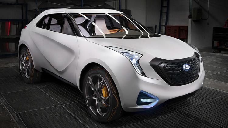 Как Matiz, но только Hyundai: южнокорейский автопроизводитель покажет прототип нового кроссовера (ФОТО)