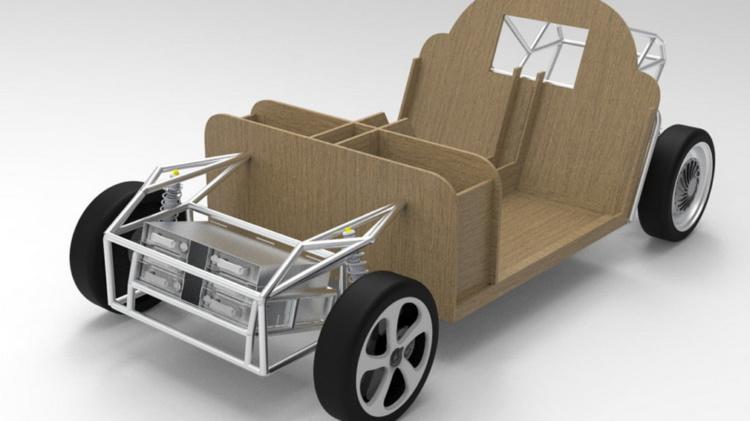 Не отличить от заводского: нидерландские студенты создадут электромобиль из отходов (ФОТО)