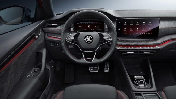 Компанія Skoda представила свій перший спортивний гібрид Octavia RS iV (ФОТО)