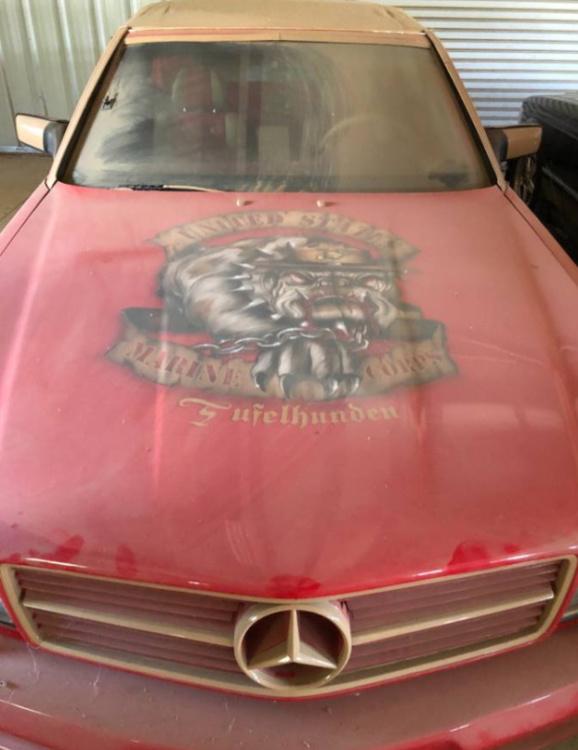 В США выставили на продажу редкий кабриолет Mercedes-Benz (ФОТО)