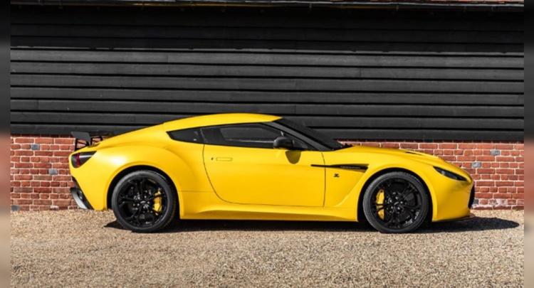 В продаже появился уникальный спорткар Aston Martin V12 Zagato (ФОТО)