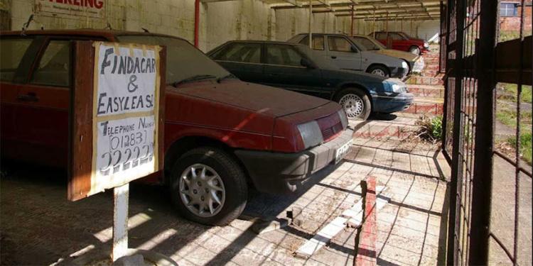 В Сети показали автосалон, который забросили 20 лет назад (ФОТО)