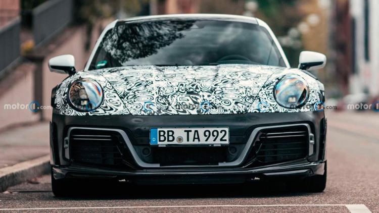В Мережі з'явилися перші зображення найбільш радикального Porsche 911 Turbo S