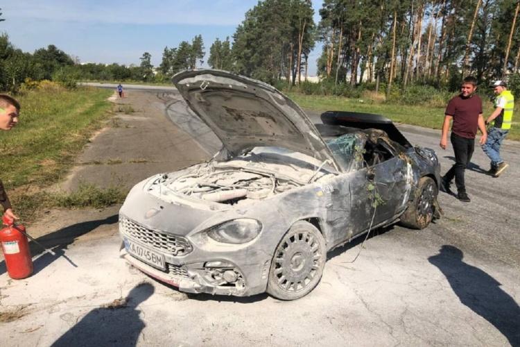 В Україні розбили черговий рідкісний суперкар (Фото)